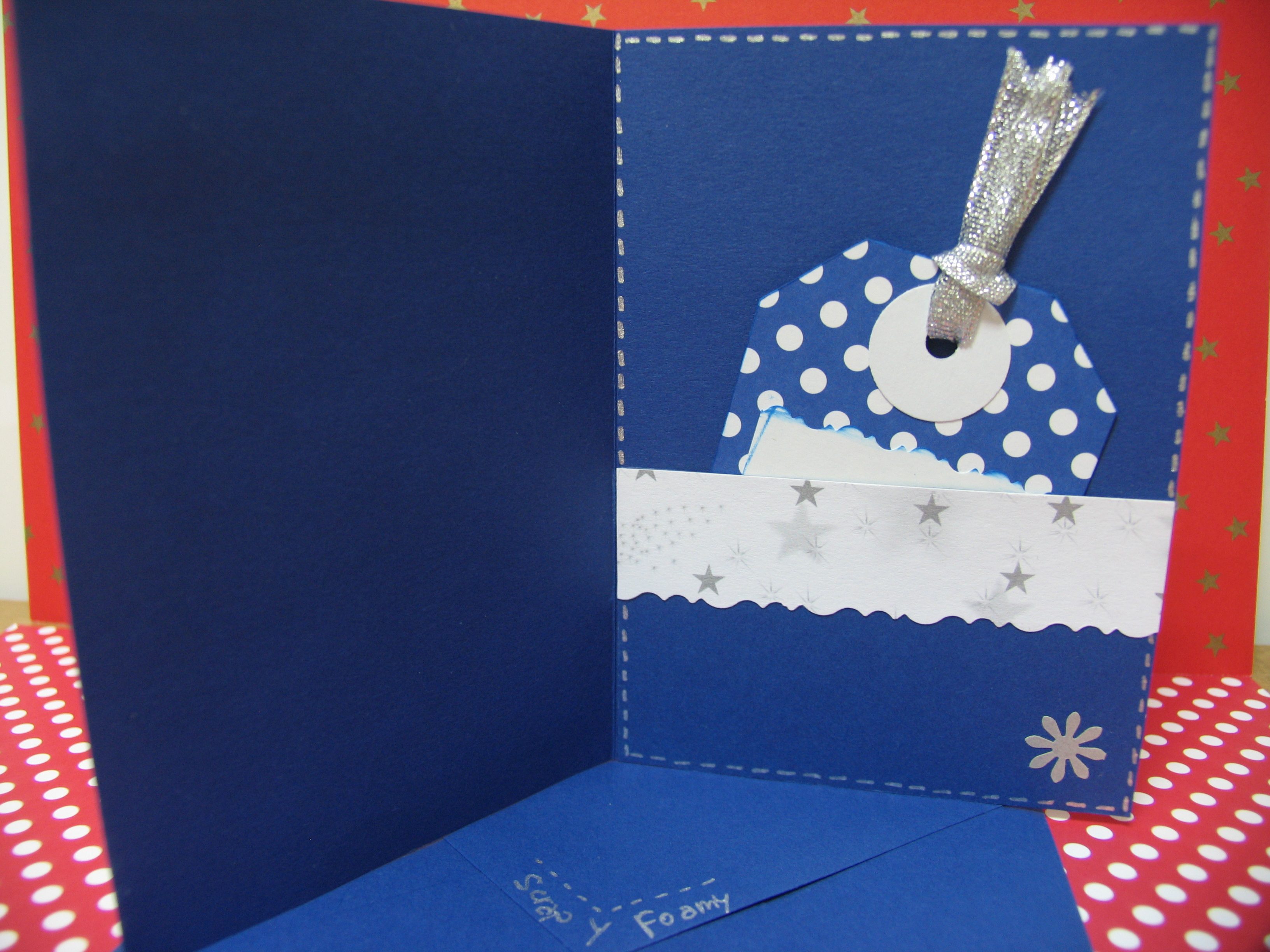 Blog Hop en Divas In Recycling: Tarjetas de Navidad « Scrap Y Foamy