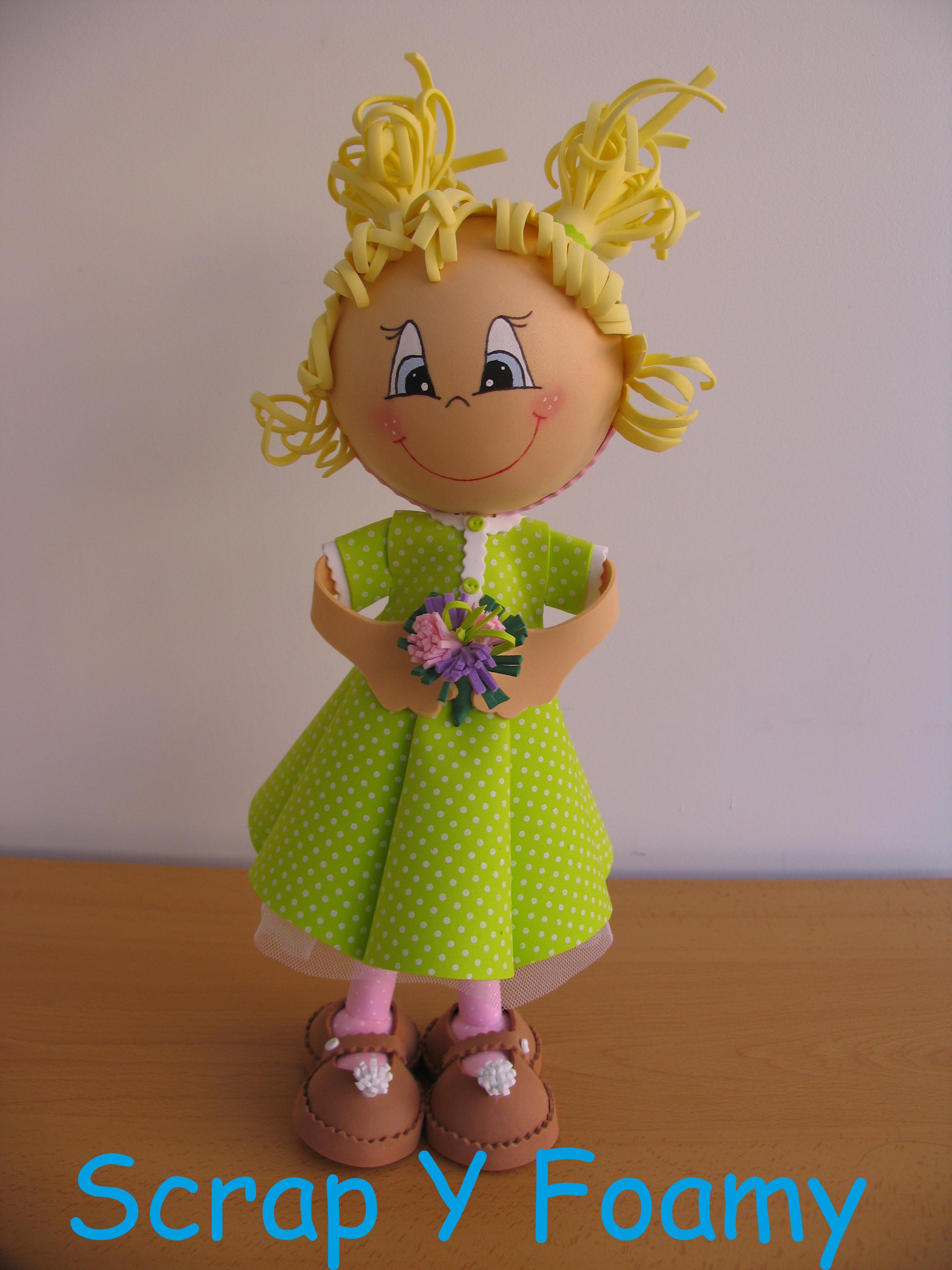 Куклы из фоамирана: фото мастер класс своими руками 202