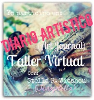Art Journal en un Taller virtual con Stella