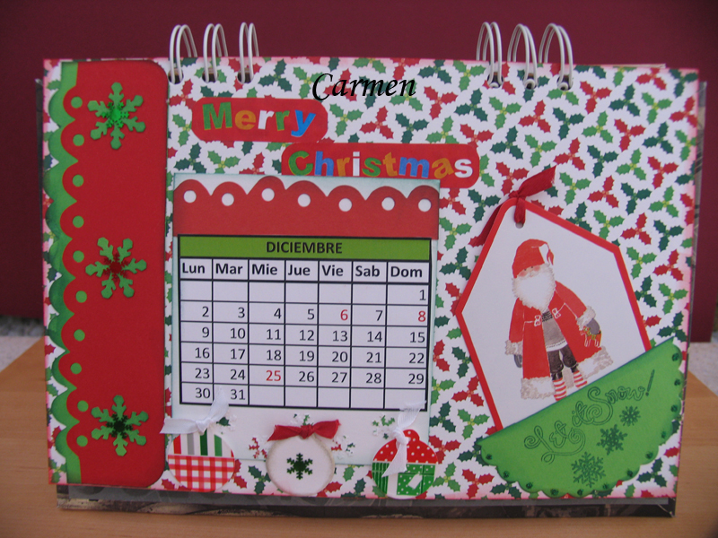 Un Calendario entre Amigas | Scrap Y Foamy